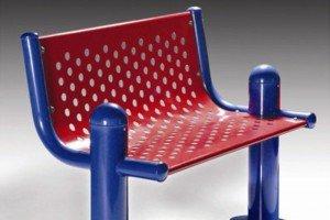 Playground Series Park Bench