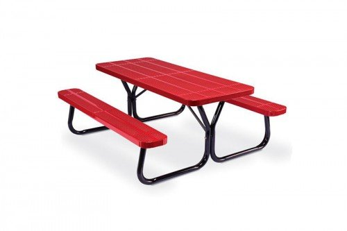 6 ft. Rectangular Picnic Table - Rally Series