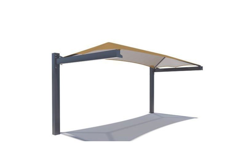 Cantilever Shade Structure