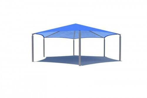 Hexagon Shade Structure