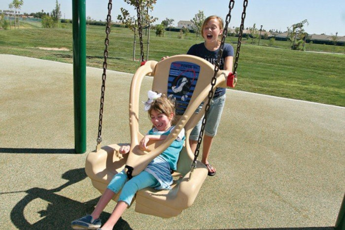 Inclusive Swing Seat (Includes Chain & Hardware)