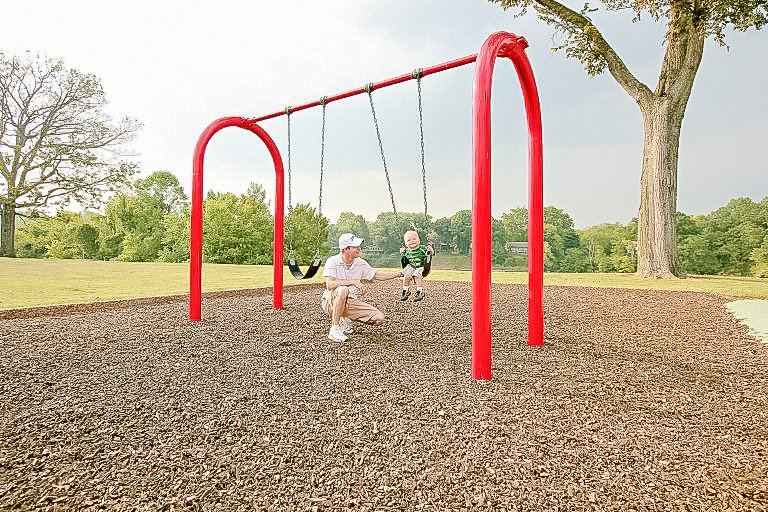 KidBuilders Arch Swing