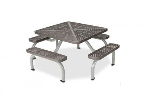 Heavy-Duty Slotted Steel Ultra Table with Surface Mount