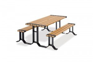 6' Wainwright Recycled Plastic Table
