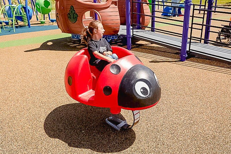 Scarlet the Ladybug Spring Rider