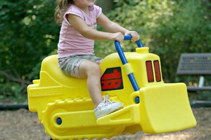 Bulldozer Spring Rider