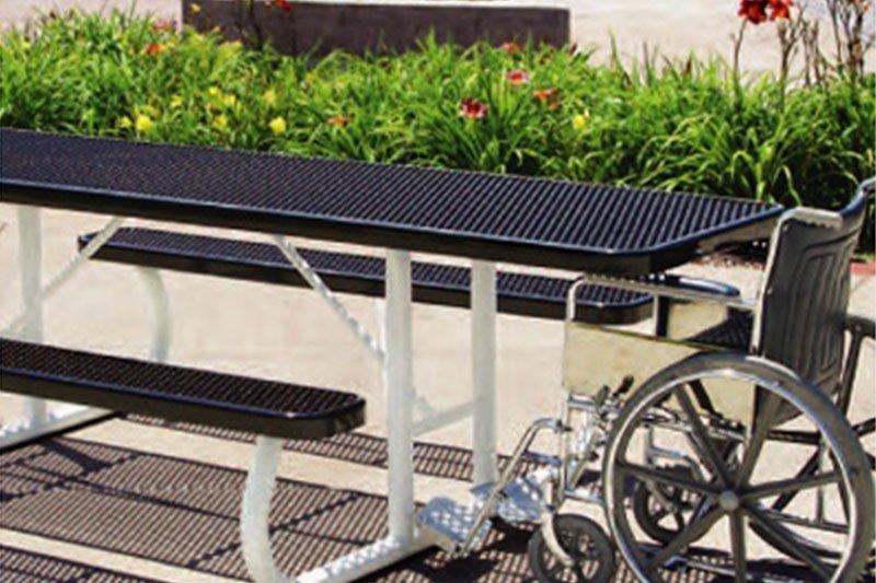 Accessible Rectangular Table - Portable