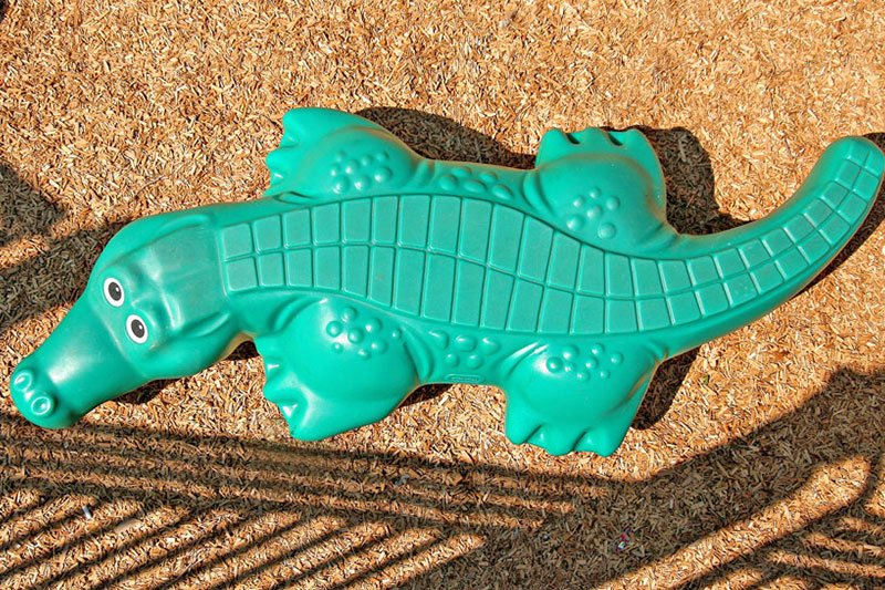 Gator Walk Sculpture Commercial Playground Equipment