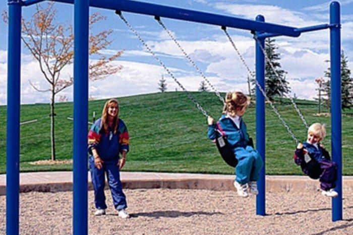 KidBuilders Independent Swing Unit