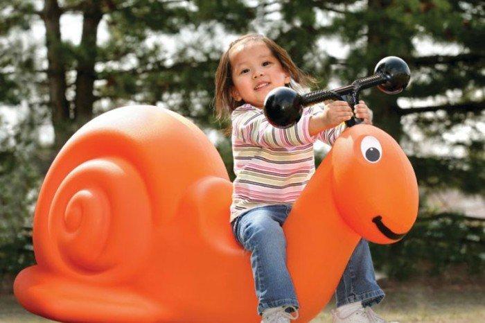 Lola the Snail Spring Rider