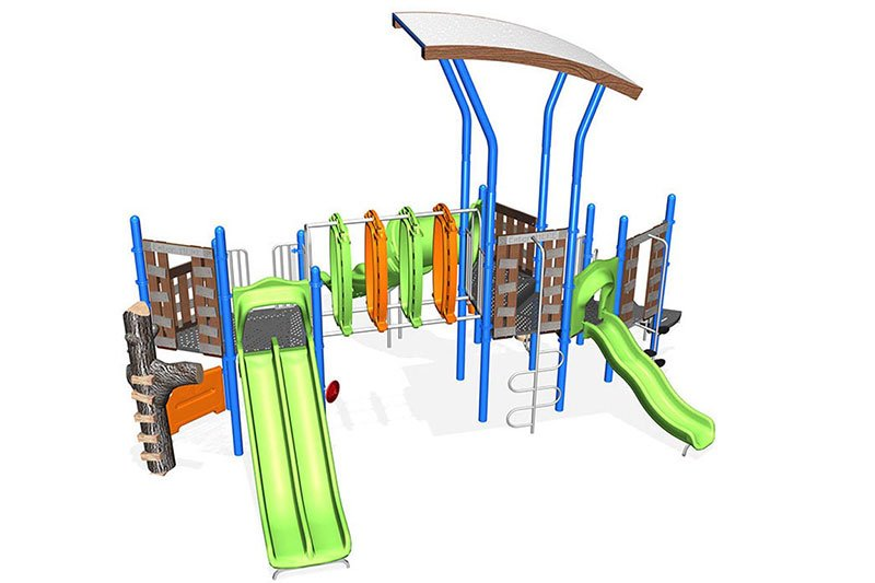 Nu Edge Qu063731 Commercial Playground Structure