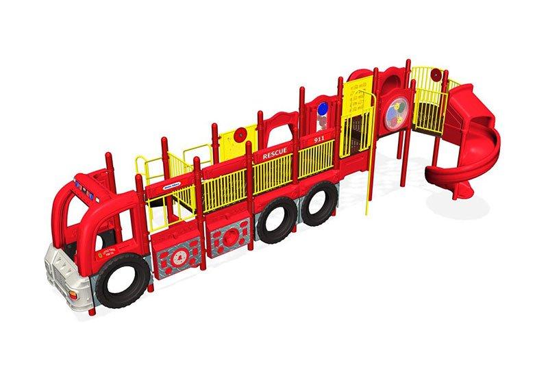 KidBuilders Firetruck Theme KBT1385