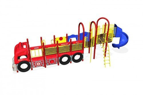KidBuilders Firetruck Theme QU063798