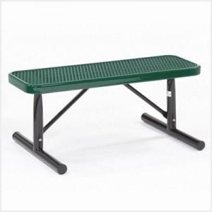 Flat Player Bench w/ Deep Seats