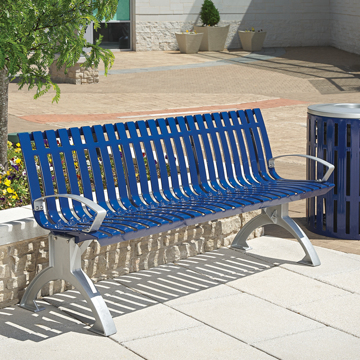 Latitude Contour Bench with Arms