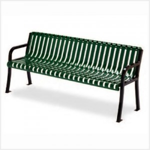 Rendezvous Bench - Slotted Steel