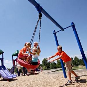 KidBuilders Tire Swing