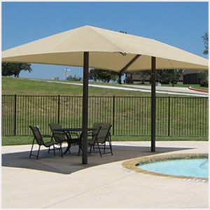 Two Post Hip Shade Structure