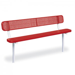 Victory Park Bench w/ Back