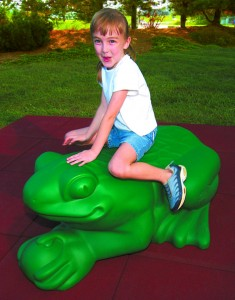 Frog Sculpture