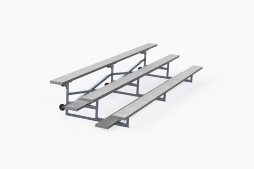 3 & 4 Row Tip & Roll Bleachers