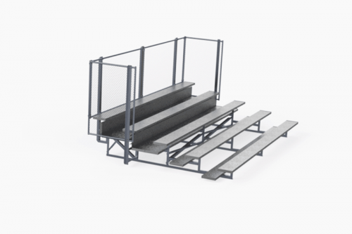 5 Row Deluxe Bleachers