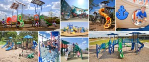 commercial playground and park equipment